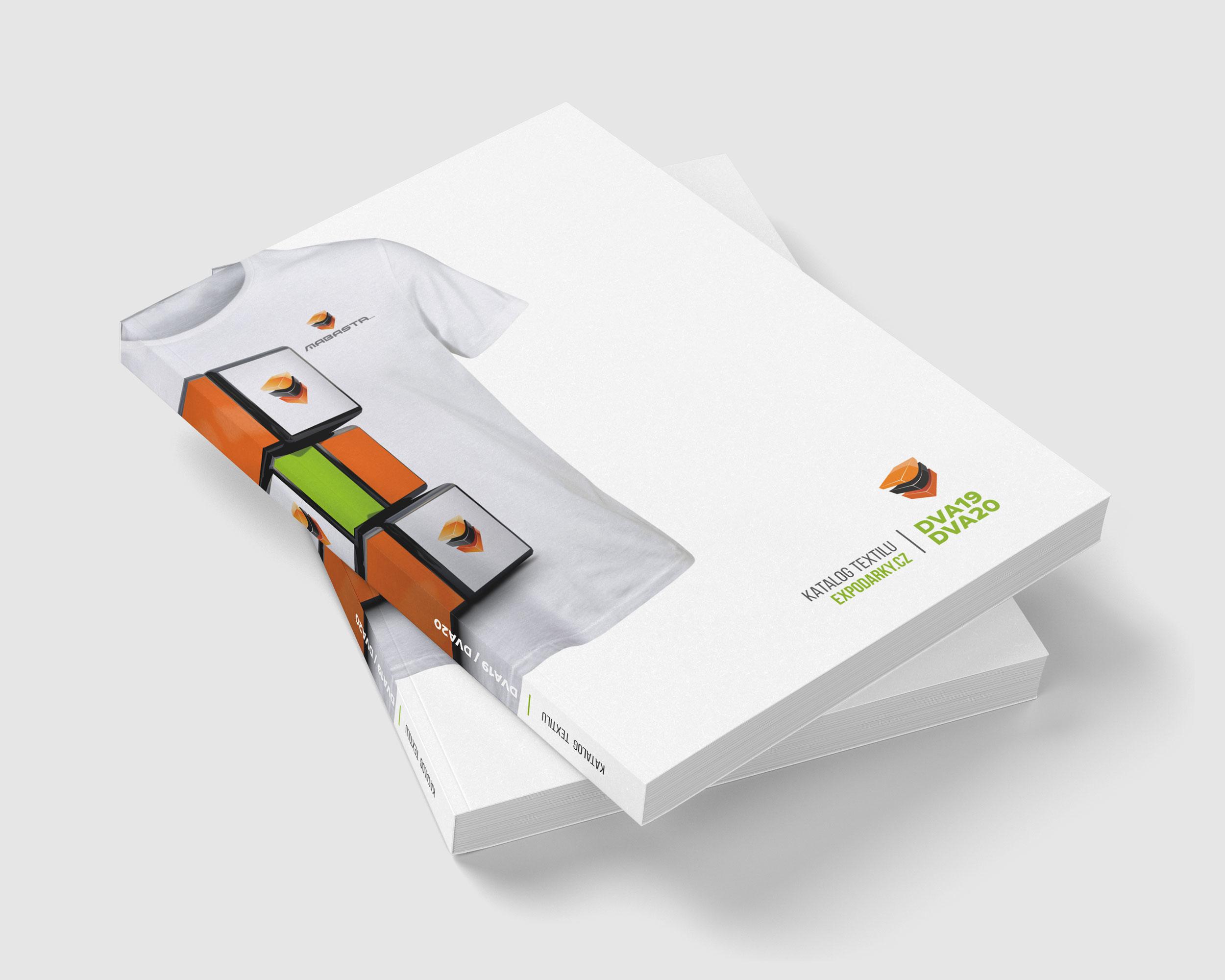Katalog reklamního textilu DVA19/DVA20